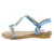 AA96 Blue Women's Sandal
