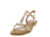 AA98 Champagne Women's Sandal - Wholesale Fashion Shoes