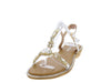 AA98 Silver Women's Sandal - Wholesale Fashion Shoes