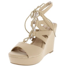ALECIA3 NUDE WOMEN'S HEEL - Wholesale Fashion Shoes