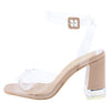 Angelena2 Nude Women's Heel - Wholesale Fashion Shoes
