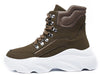 Aston Khaki Women's Boot - Wholesale Fashion Shoes