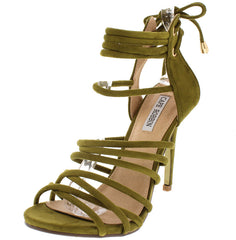 ADELINA1 OLIVE WOMEN'S HEEL - Wholesale Fashion Shoes
