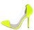 Adora179 Neon Yellow Women's Heel