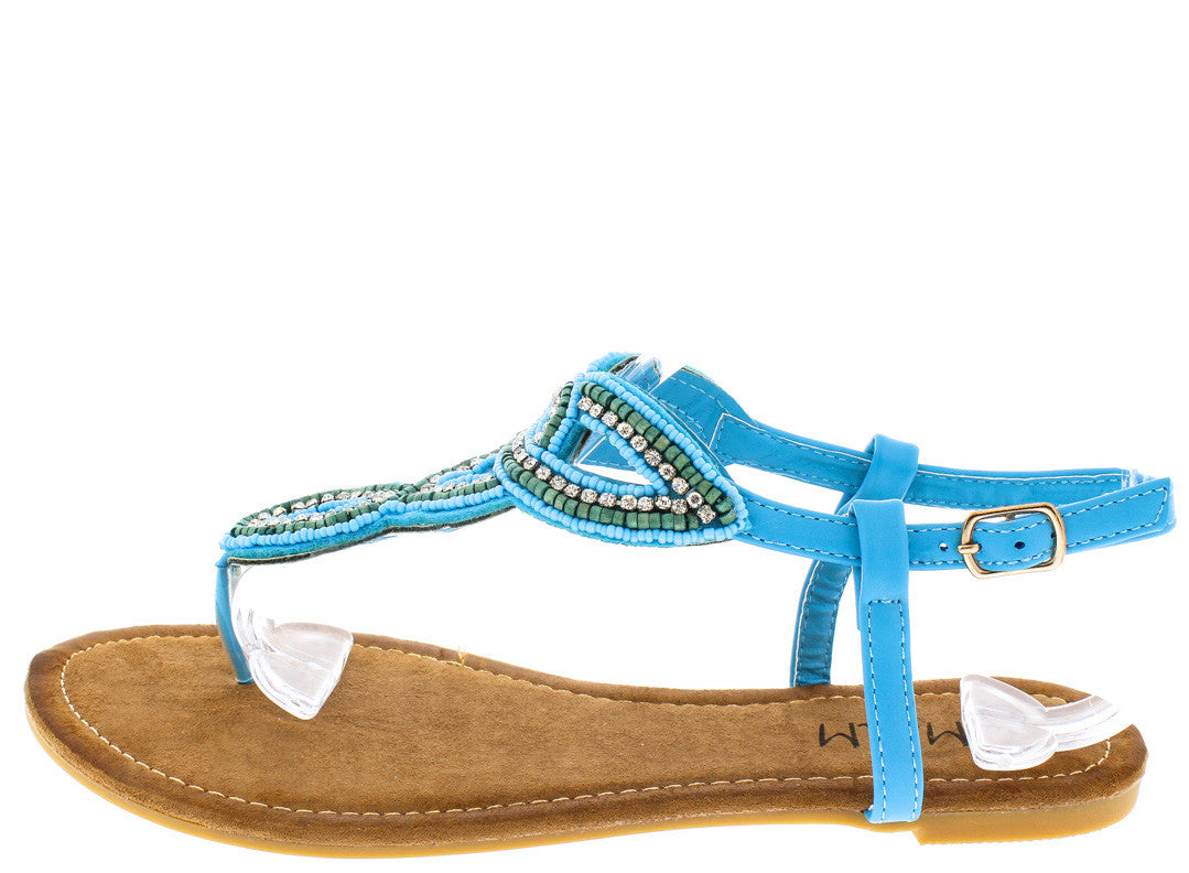 c76b35ddc3b Agata Blue Fashion Women's Sandals Only $10.88 - Wholesale Fashion Shoes