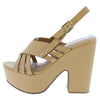 Alden2 Nude Pu Women's Heel - Wholesale Fashion Shoes