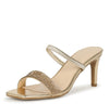 Always13 Gold Women's Heel - Wholesale Fashion Shoes