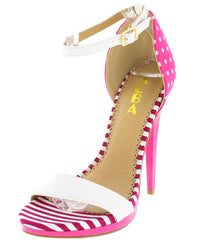 AMANDA02 FUCHSIA WOMEN'S HEEL - Wholesale Fashion Shoes