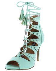 AMANDA2 MINT WOMEN'S HEEL - Wholesale Fashion Shoes