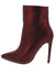 Amanda2 Red Pointed Toe Stiletto Ankle Boot