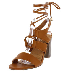 ANASAYA10 CAMEL WOMEN'S HEEL - Wholesale Fashion Shoes