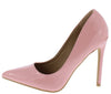 Anita Pink Pointed Toe Stiletto Pump Heel - Wholesale Fashion Shoes