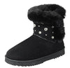 Annie12k Black Kids Boot - Wholesale Fashion Shoes