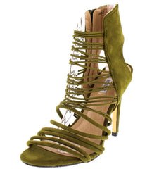 ANOXA1 OLIVE WOMEN'S HEEL - Wholesale Fashion Shoes