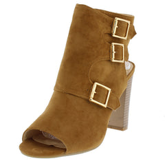 APPLE6 BEIGE WOMEN'S HEEL - Wholesale Fashion Shoes