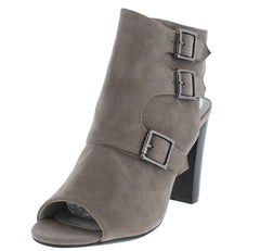 APPLE6 GREY WOMEN'S HEEL - Wholesale Fashion Shoes