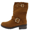 Avocado09 Tan Women's Boot - Wholesale Fashion Shoes