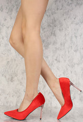 BEATRIX2 RED WOMEN'S HEEL - Wholesale Fashion Shoes