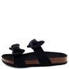 Janis070 Black Women's Sandal - Wholesale Fashion Shoes