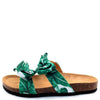 Janis070 Green Multi Women's Sandal - Wholesale Fashion Shoes