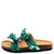Janis070 Green Multi Women's Sandal