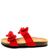Janis070 Red Women's Sandal - Wholesale Fashion Shoes