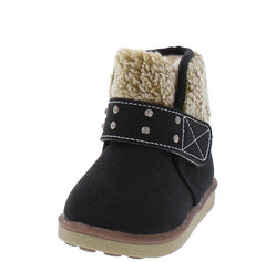 BK21 BLACK INFANT BOOT - Wholesale Fashion Shoes