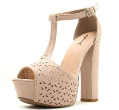 BEAT92 NUDE WOMEN'S HEEL - Wholesale Fashion Shoes