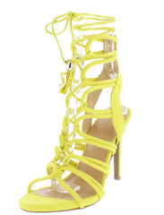 BERLIN72 CHARTREUSE WOMEN'S HEEL - Wholesale Fashion Shoes