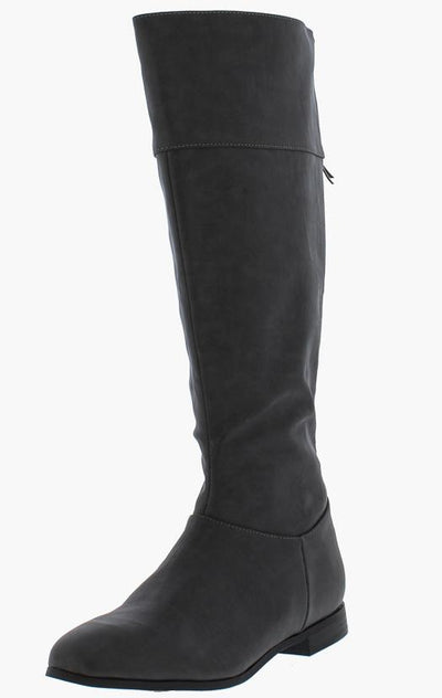 Isabelle082 Charcoal Women's Boot - Wholesale Fashion Shoes