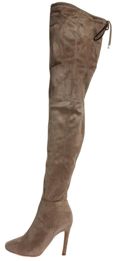 Bobbi01 Taupe Women's Boot - Wholesale Fashion Shoes