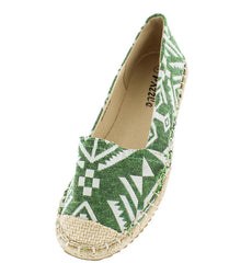 BONA06 GREEN WOMEN'S FLAT - Wholesale Fashion Shoes