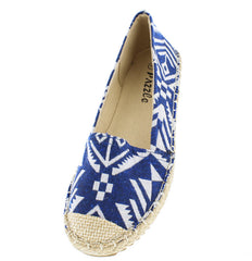BONA06 NAVY WOMEN'S FLAT - Wholesale Fashion Shoes