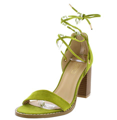 BRITTAA14 GREEN WOMEN'S HEEL - Wholesale Fashion Shoes