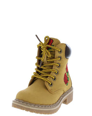 BROADWAY1K CAMEL KIDS BOOT - Wholesale Fashion Shoes