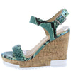 Bullock Snake Women's Wedge - Wholesale Fashion Shoes