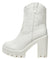 Chill White Chunky Lug Sole Western Stitch Boot