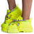 Chunk Fever Neon Yellow Women's Boot