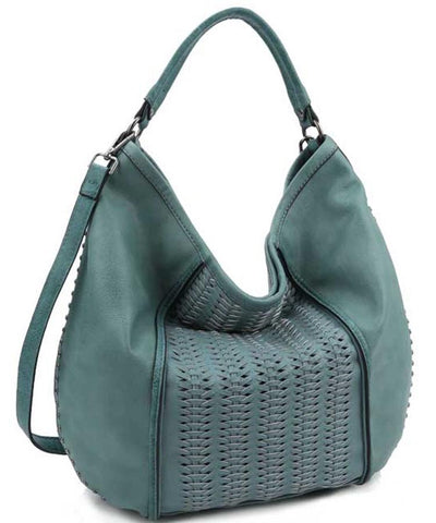Ella016 Teal Women's Handbag - Wholesale Fashion Shoes