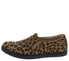 Cali1 Cheetah Round Toe Slip On Loafer Flat - Wholesale Fashion Shoes