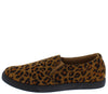 Cali1 Leopard Round Toe Slip On Loafer Flat - Wholesale Fashion Shoes