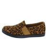 Cali3 Leopard Round Toe Slip On Loafer Flat - Wholesale Fashion Shoes