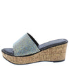 Camilo Black Women's Wedge - Wholesale Fashion Shoes