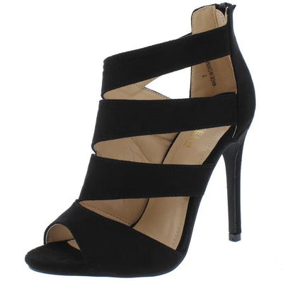 Canan3 Black Woman's Heel - Wholesale Fashion Shoes