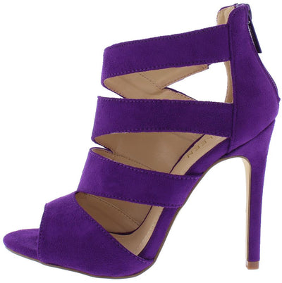 Canan3 Purple Woman's Heel - Wholesale Fashion Shoes
