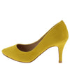 Canty05 Mustard Women's Heel - Wholesale Fashion Shoes