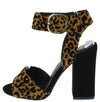 Carissa04 Camel Black Women's Heel - Wholesale Fashion Shoes
