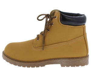 1cfb00c2408b Cassie1 Wheat Lug Sole Lace Up Ankle Boot - Wholesale Fashion Shoes