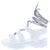 Catch24 White Women's Sandal