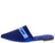 Juliet150 Blue Homme + Femme Pointed Toe Mule Flat